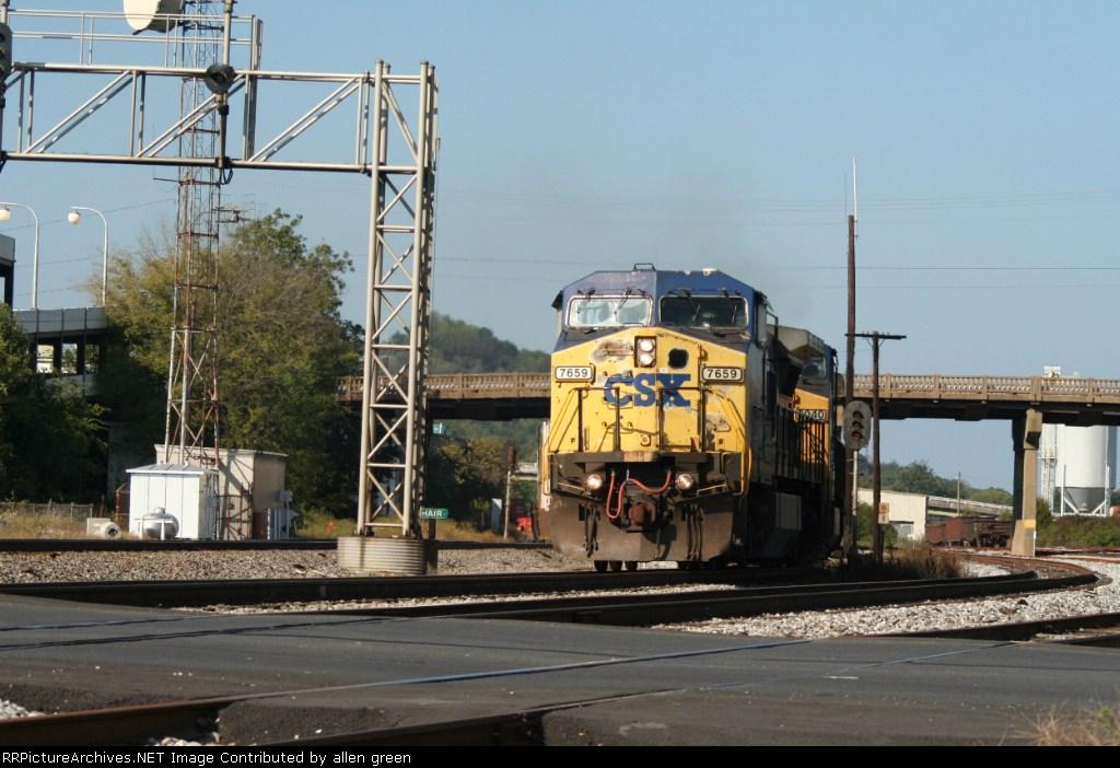CSX 7659 Q127 sb