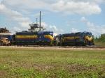 GP-7 & GP-9 & Dash 8 MTCE Yard Ft Myers