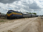 Dinner Train @ Yard Ft Myers w/former B & M RDC Cars