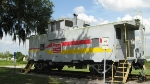 WV Caboose at the ACL Station Zephryhills,Fla.
