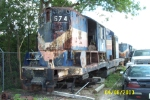 These Units were finally scrapped in late 2008 after years of supplying parts for other Geeps of SGLR