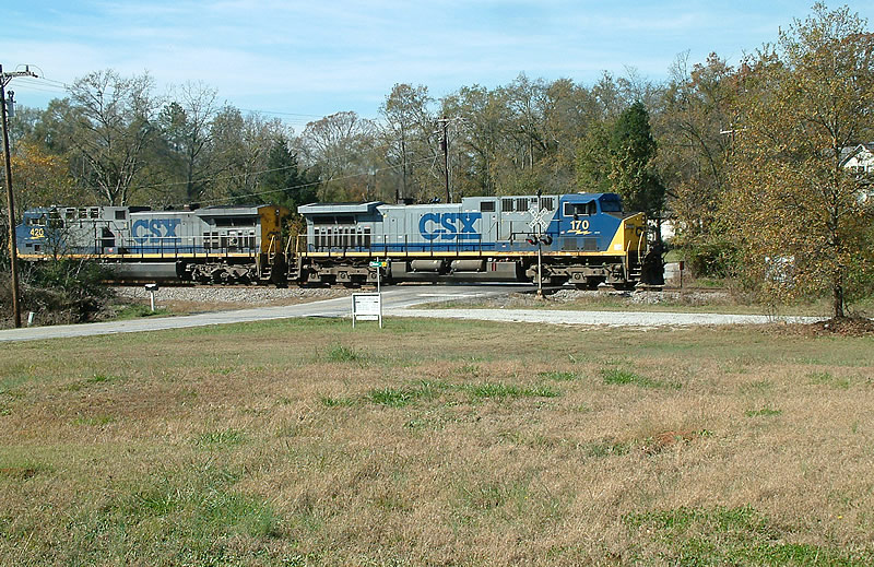 CSX NB Coal train