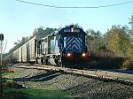 Autorack train for Columbia