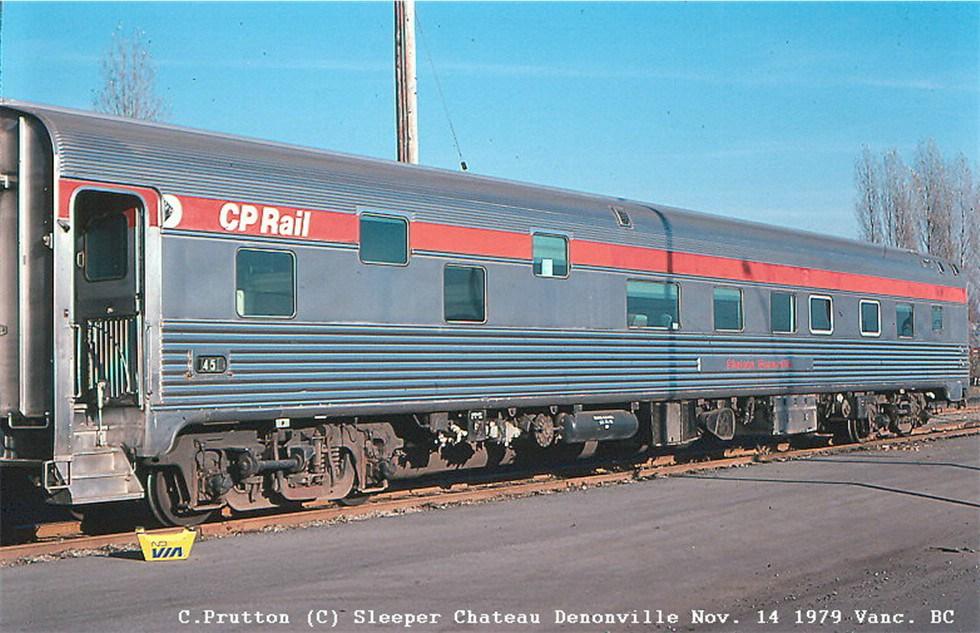 """CP 14206 """"Chateau Denonville"""""""