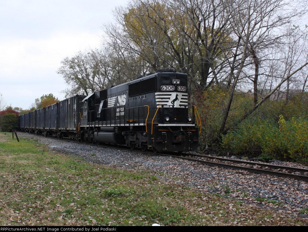 NS 6308 is on PR-01.