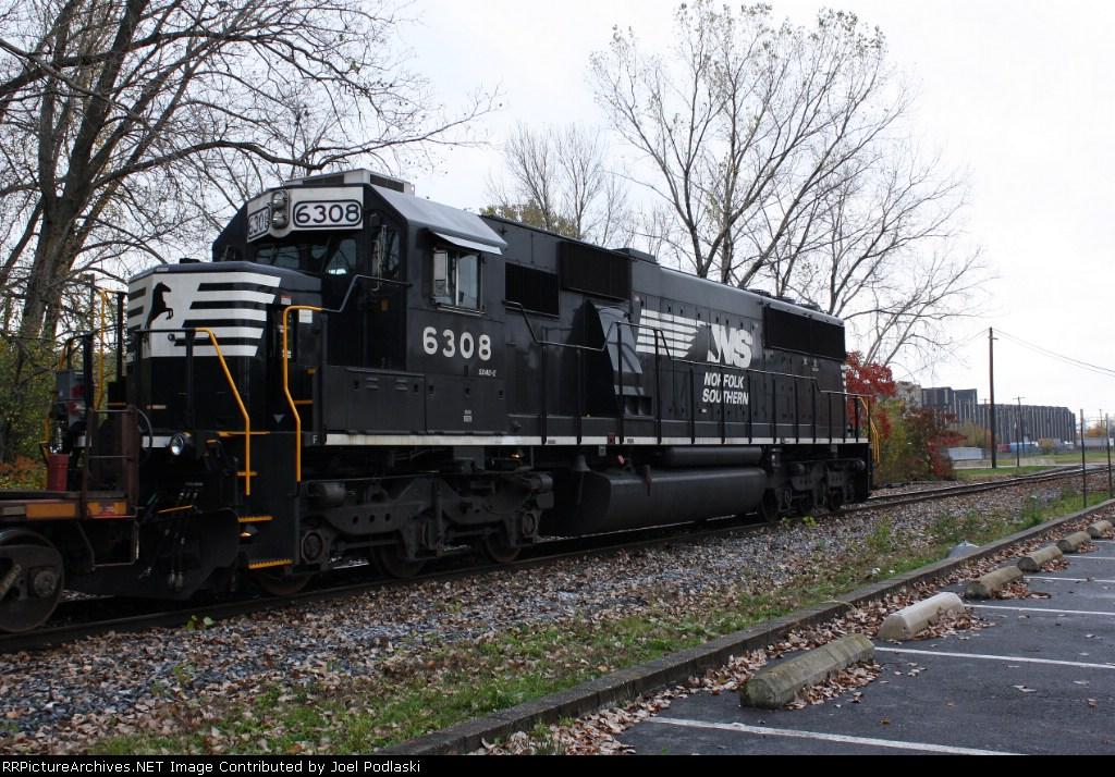 NS 6308 is on PR-01.