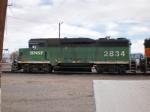 BNSF ex. BN 2834