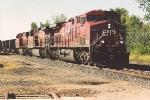 Eastbound hopper train