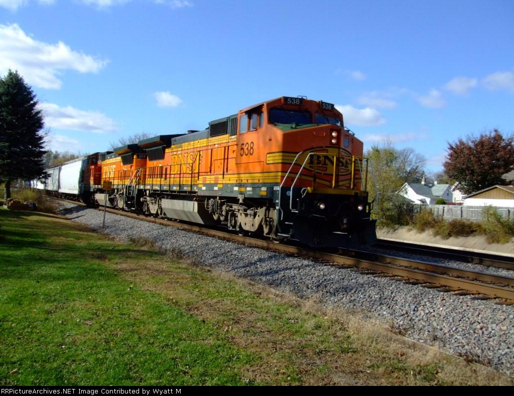 BNSF 538