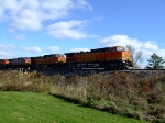 BNSF 5215 and 4374