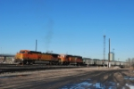 BNSF 5613 Point On South Bound Coal Train