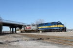The City of Janesville sits in Knoche yard and waits for its next assignment. To bad Kansas City Southern did'nt take over the ICE.