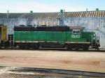 BNSF GP28P 1542