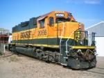 BNSF GP38-2 2086