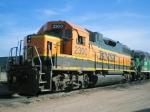 BNSF GP38-2 2300