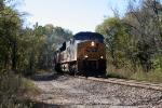 E153 CSX 733 Empty Coal north Ridge Tunnel
