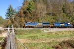 E153 CSX 733 Empty Coal North
