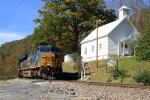 Q696 CSX 834 southbound Huntdale Church