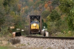 CSX 96 southbound Coal - first try up the hill