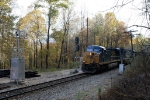 CSX 800 southbound coal at Camp 2