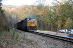 CSX 815 DPU southbound coal at Camp 2