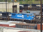 Big Blue Lives On at the Enola Yard