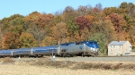 Amtrak and fall colors