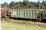 BN 2-bay PS covered hopper (ex-SLSF)