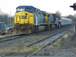 CSX 356 leads Ringling Bros. train