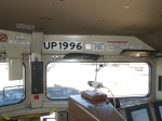 UP 1996 in-cab at 2:35pm