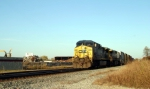 CSX Q275 southbound passes Southern Recycling