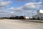J756 enters Memphis Jct. Yard