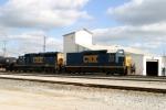 J756 in CSX Memphis Jct. Yard