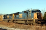 Q574 led by a pair of SD70MACs