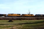 UP 9595 and 4454 trail on CSX Q275