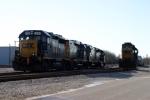 A cold morning at CSX Memphis Jct. Yard