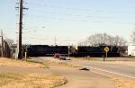 CSX Q534 prepares to work the yard at Memphis Jct.