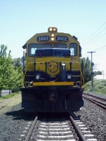 The front of ARR3002 a GP40-2