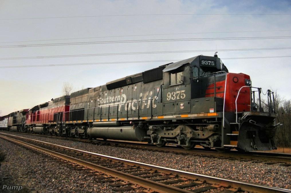 Westbound MNA Manifest Train