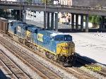 CSX 731 leads train T108