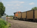 BNSF 5712 DPU SB Empty MERC Coal Train