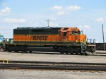 BNSF 7877 RCO Engine at 28th Street Yard