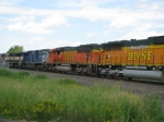 BNSF 9989 part of outbound MERC Coal Train