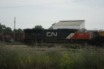 CN 5701 sits in Point Yard awaiting duty