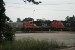 CN 5734 sits at Fuel Rack in Point