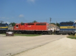 DME 6092 third unit on EB at Monore Center, IL