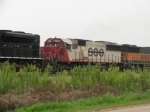 CEFX 6005 former SOO 6005 working lease hours on BNSF!