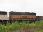 BNSF 330 which is rare these days part of EB H train!