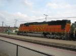 BNSF 8257 leads U-MADSEM (Madison, IL-Steelton, MN) Ore Train!