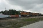 BNSF 4680 leads EB Z.